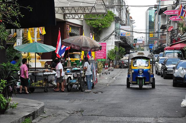 Nákupy v Bangkoku, 1. část