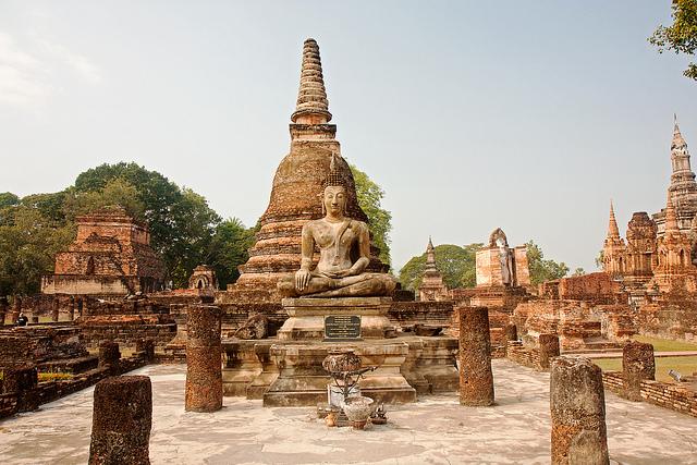 Město Ayutthaya, 1. část