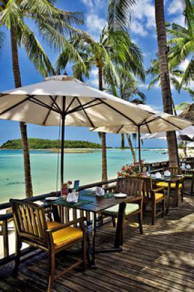 Thajský hotel Nora Beach Resort & Spa s terasou