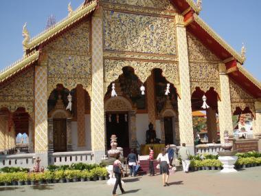 Thajské město Lamphun