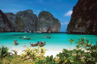 Ostrov Phi Phi, Thajsko