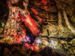 Thajská jeskyně Erawan