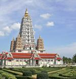 Thajská Pattaya a chrám Wat Yansangwararam
